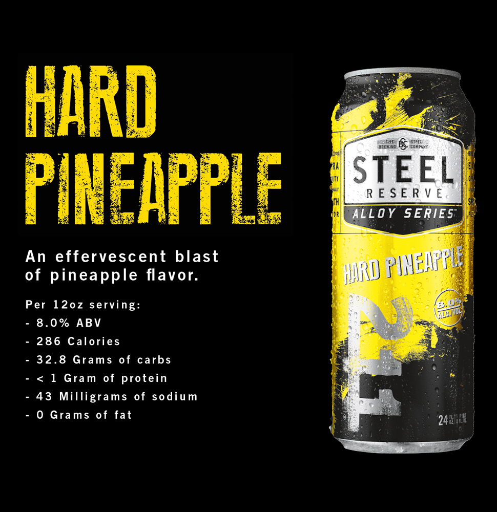 Steel Reserve Pineapple